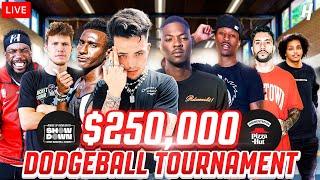 $250,000 Dodgeball Tournament! Ft. @FaZe Clan  @RDCworld1  @2HYPE  @AMP  I HoH Showdown!