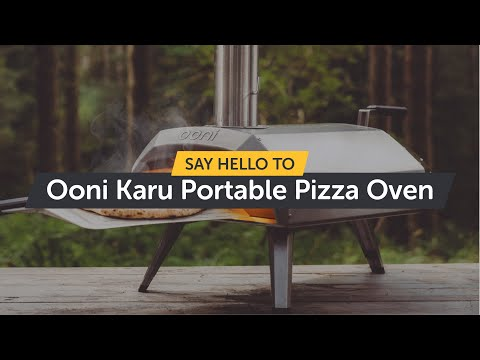 Say Hello To Ooni Karu - Wood And Charcoal-Fired Portable Pizza Oven!