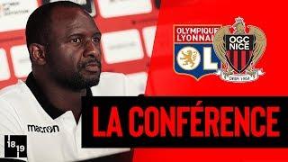 Lyon-Nice : la conférence d'avant match