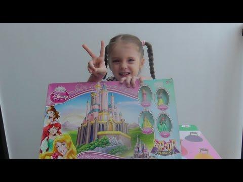 Волшебный замок Принцессы Дисней Настольная игра Board game Pop-up Magic Castle Game Disney Princess