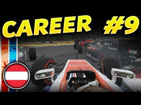 F1 2016 CAREER MODE PART 9: CARNAGE AT AUSTRIA