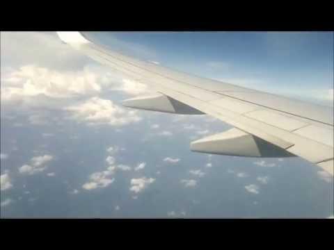 Landing at Cochin International Airport, India