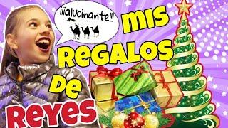 Abriendo mis regalos de REYES MAGOS 🎁-Os presento a muchos miembros de mi familia/ El mundo de Indy