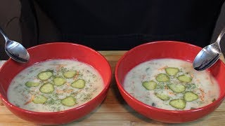 Dill Pickle Soup!  (If you like dill pickles, you