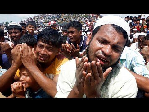 euronews (en français): Rohingyas : commémoration de l'exil massif