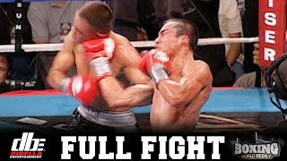 JUAN MANUEL MARQUEZ vs. MARCOS LICONA I FULL FIGHT I BOXING WORLD WEEKLY