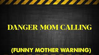 Check out our funny series ringtone 'danger mom calling' set this as your ringtone! get it now!!! click the link - https://itunes.apple.com/us/album/dan... w...