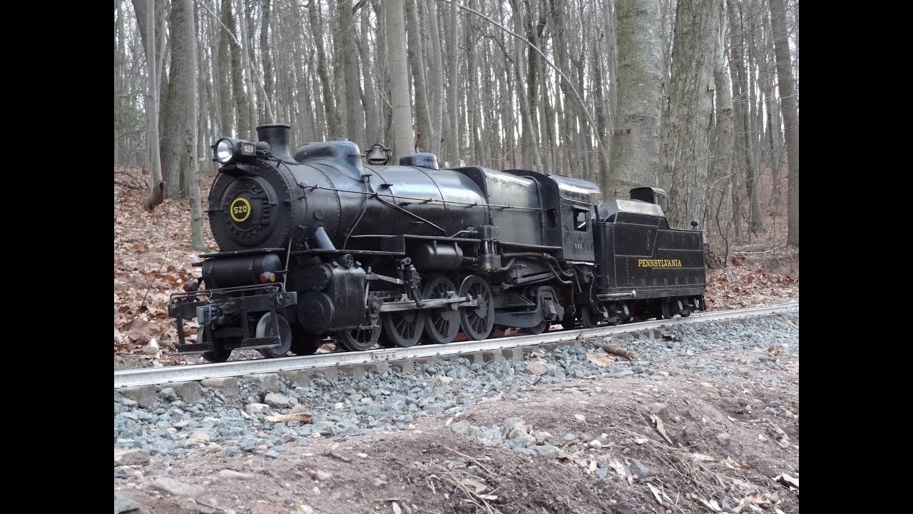 Fire up PRR #520 L1 2-8-2 Locomotive