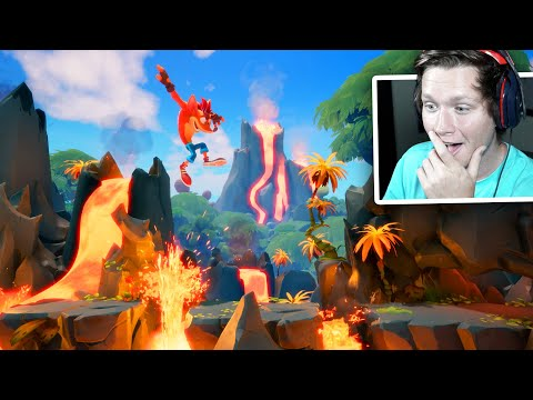 Crash Bandicoot 4 – Reveal Trailer & First Gameplay!