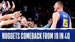 The Denver Nuggets defeated the Philadelphia 76ers 100-97. Nikola J...