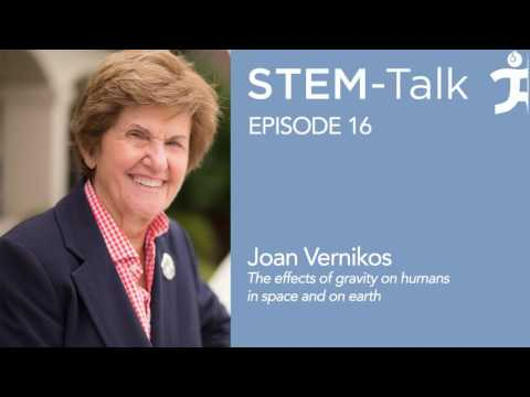 Episode 16  Joan Vernikos discusses the effects of gravity on humans in space and on earth