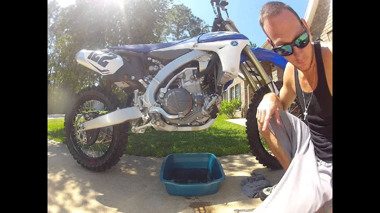 How to Change the Oil On a 2013 Yz450f