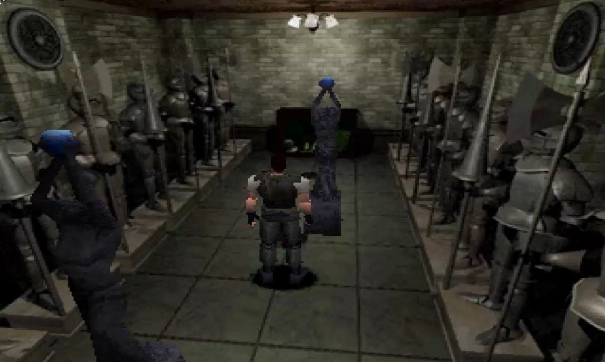 Resident Evil 1 PSX Changing Models YouTube