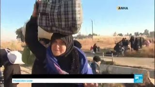 Syria  thousands of civilians flee Eastern Aleppo as army makes significant advance in its offensive
