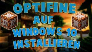Optifine auf Windows 8 und 10 Installieren - Tutorial