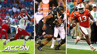 2019 ACC Football Touchdown Montage: Week 2