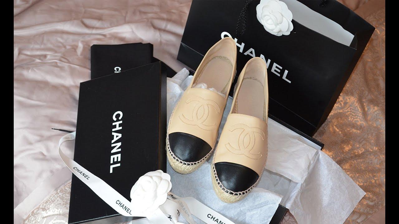 quality design a658e eb2d0 Chanel Espadrilles | Unboxing, Price, Fit & Review
