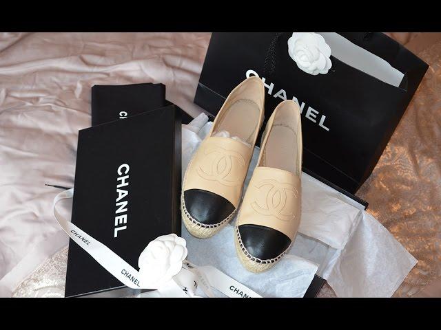 Chanel Espadrilles   Unboxing, Price