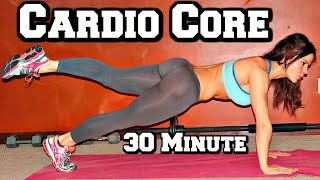 30 min Cardio Workout, Pilates and Core Workout with Melissa Bender and Sean Vigue Fitness