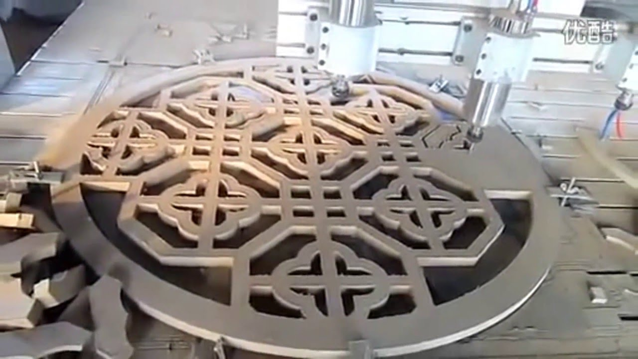 Cnc router machine: carving mdf for making closet doors & partitions