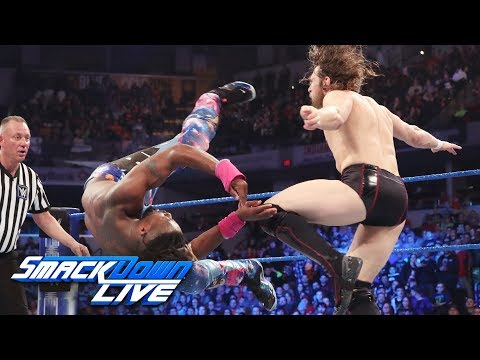 Kofi Kingston vs. Daniel Bryan - Gauntlet Match Part 6: SmackDown LIVE, March 19, 2019
