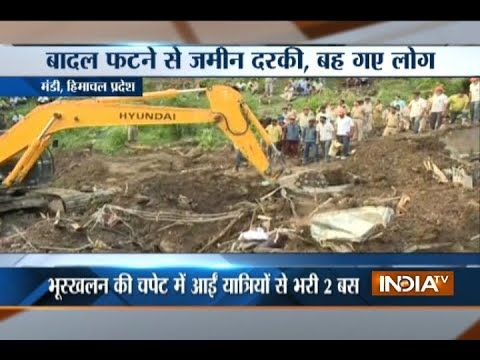 At least 46 dead in Himachal landslide, rescue operation underway