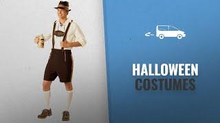 Pinse Men Halloween Costumes [2018]: Halloween Deluxe Bavarian Guy Adult Costume (L)