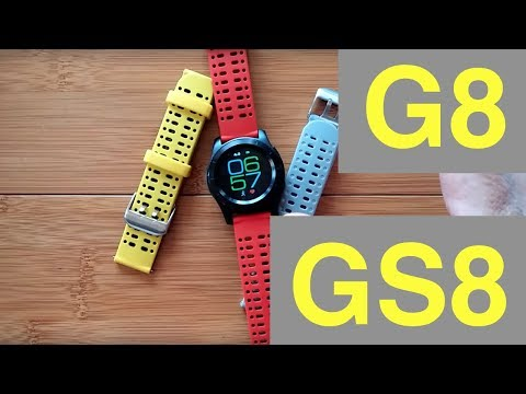 No.1 GS8 (G8) Dual Mode Smartwatch: Review & FREE Bands!