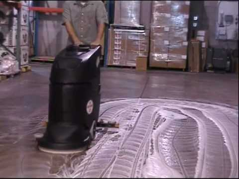 CleanFreak Performer 20 Automatic Floor Scrubber Instructional Video
