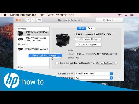 HP  LaserJet Pro CP1025nw How To Work On OS Mojave заставить работать принтер HP LaserJet  в  Mojave