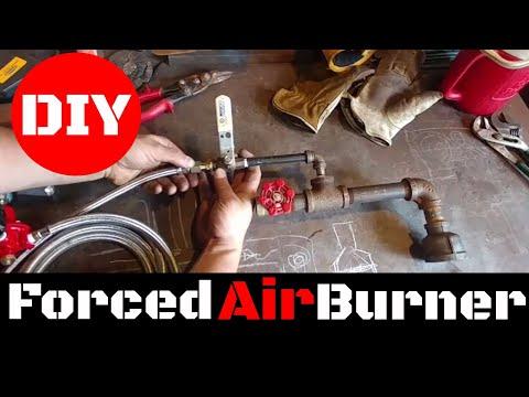 How to Make a Forced Air Propane Burner