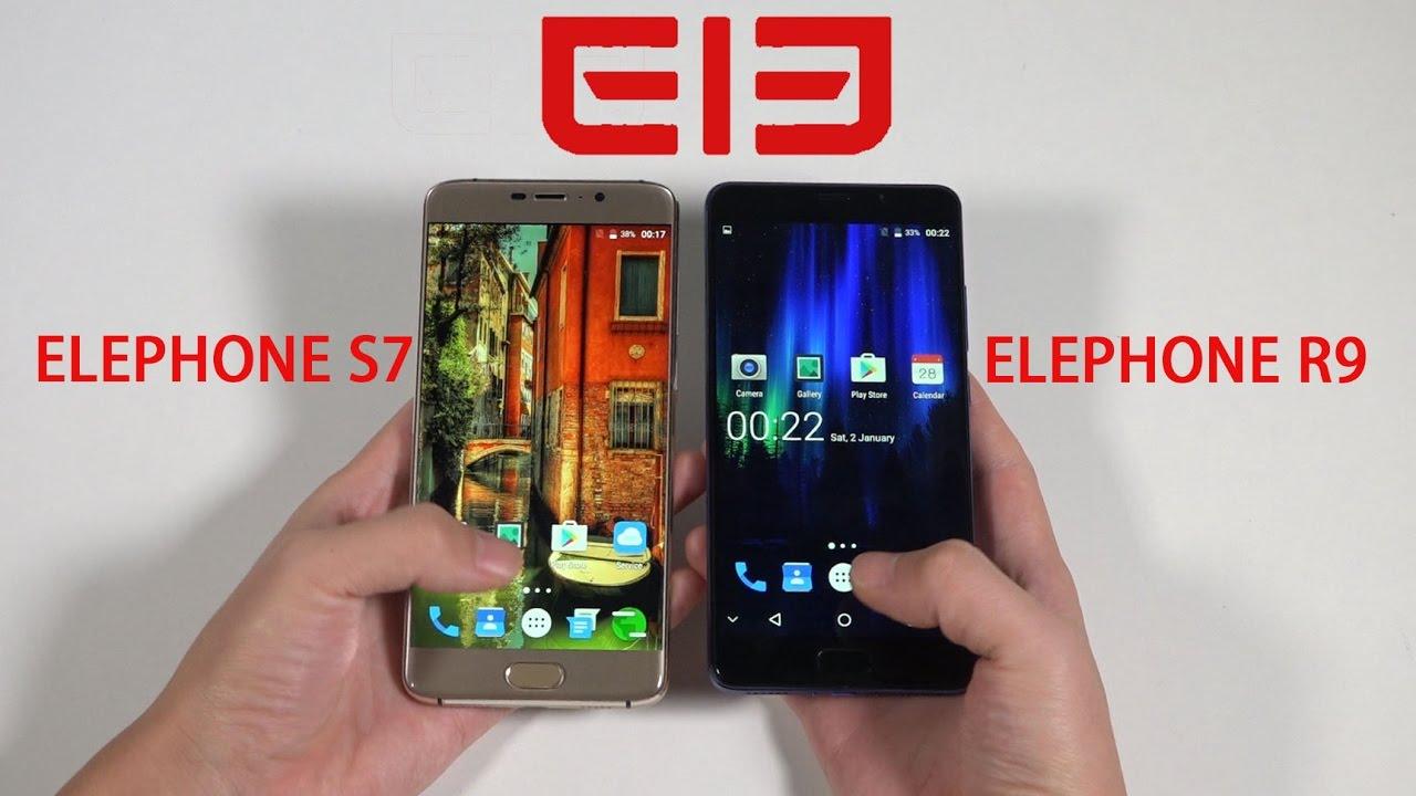 ELEPHONE P9000 VS IPHONE 7