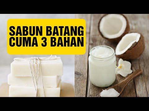 Sabun Natural 3 bahan    100% coconut oil