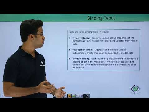 SAPUI5 - Models & Data Binding - YouTube