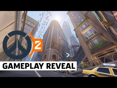 Overwatch 2 Gameplay Reveal - New York (5v5)