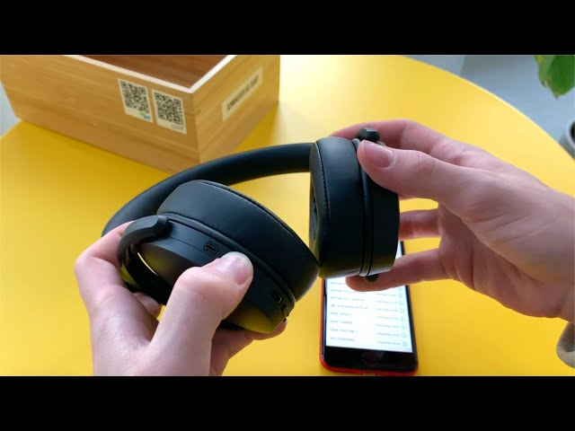 Jak sparować słuchawki Sennheiser HD 350BT i HD 450BT ze smartfonem