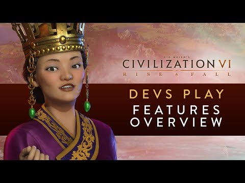 Civilization VI: Rise and Fall  - FIRST GAMEPLAY FOOTAGE (Devs Play Korea)