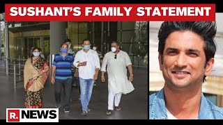 Sushant's Family Releases Emotional Letter Describing Actor's Journey From Childhood To Demise