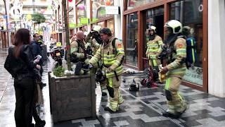 Nieuwegeinse winkel vol rook door kortsluiting in stofzuiger | NieuwegeinTV