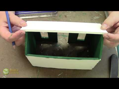 Papa Smurf Terrain Tutorial:  How to Make a Rusted Shed (Extended)