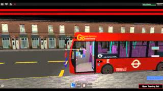Roblox East London Bus Simulator Route 193 Romford, Queen's Hospital to County Park Estate Part 3