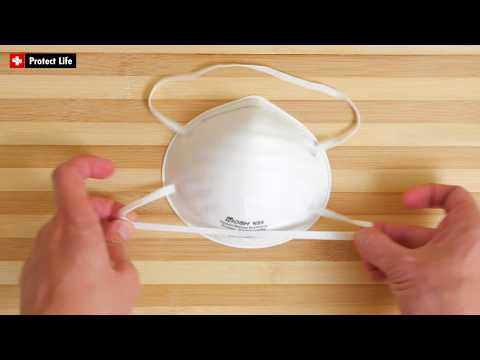 Dust Mask N95 Respirator For Mold Cleaning Construction And Woodworking