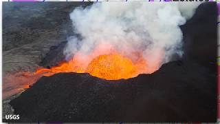 fast moving lava