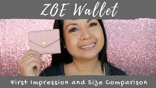Video Louis Vuitton Zoe Wallet | First Impression | Size Comparison | LalaLV download MP3, 3GP, MP4, WEBM, AVI, FLV Agustus 2018
