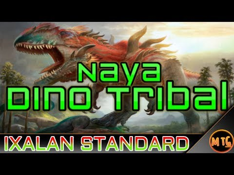 Mtg Naya Dinosaurs Tribal Standard Deck Tech For Magi