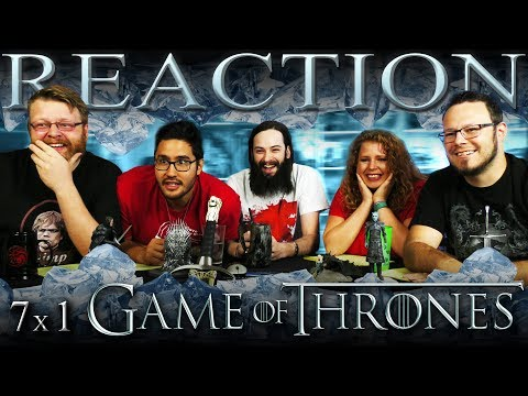 "Game of Thrones 7x1 PREMIERE REACTION!! ""Dragonstone"""