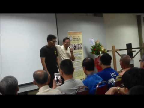 Penang Ving Tsun Seminar 11 June 16 - By Sifu Lam Ping Hung
