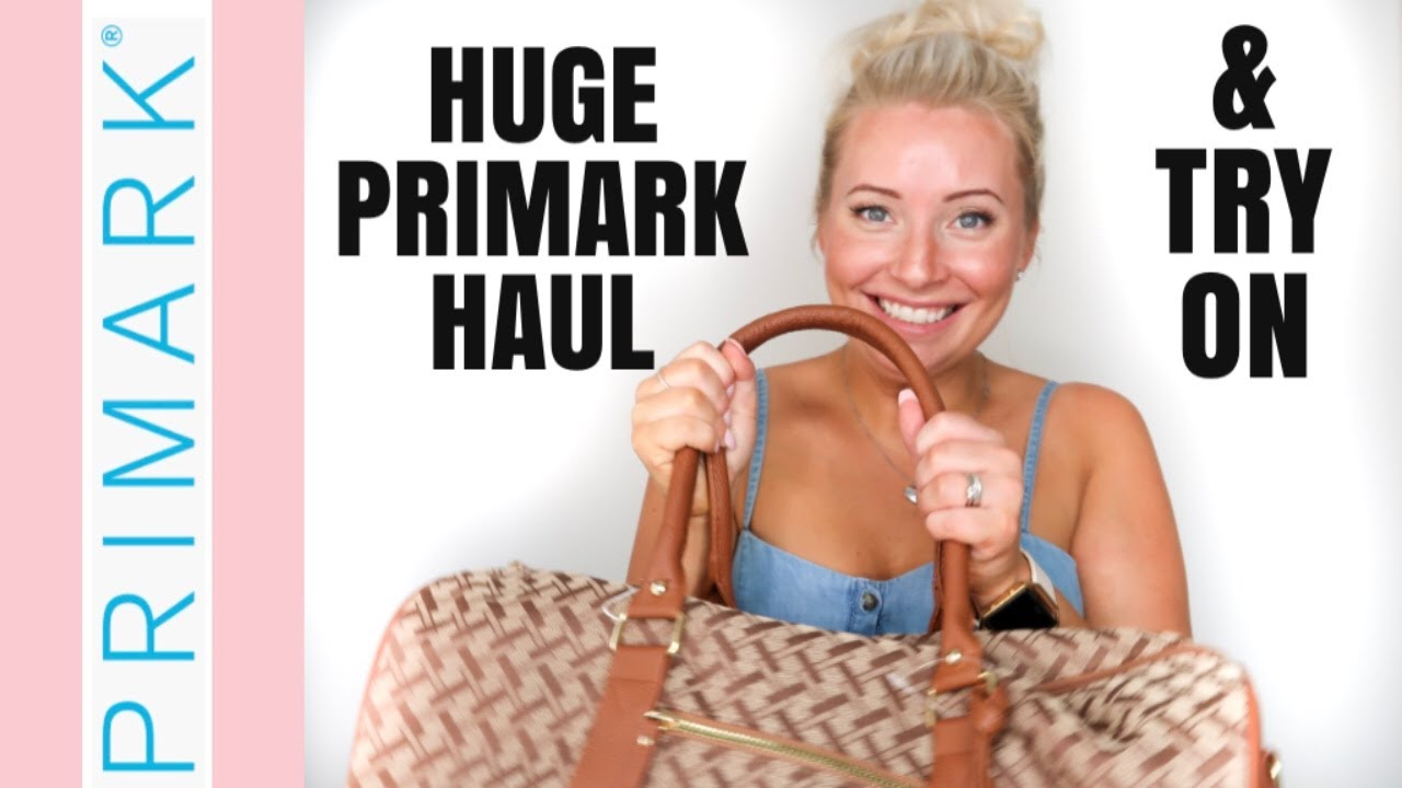 [VIDEO] - NEW!! HUGE PRIMARK TRY ON HAUL! | AUGUST 2019 SUMMER / AUTUMN FASHION | NEW IN FASHION 8