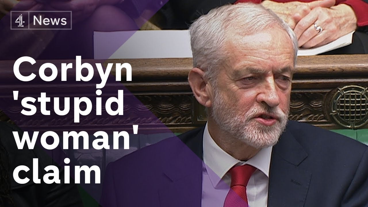Image result for CORBYN STUPID WOMAN PIC