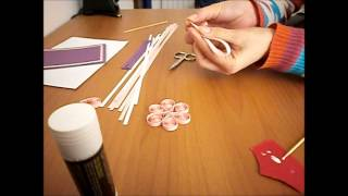 How to: Quilling greeting card/ felicitare